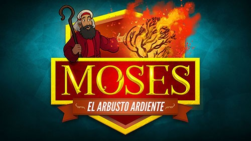 Éxodo 3 Moisés y el video bíblico de la zarza ardiente para niños
