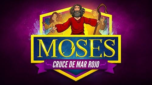 Éxodo 12 Moisés y el video de la Biblia del Mar Rojo cruzando para niños