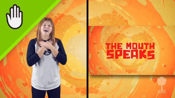 The Mouth Kids Worship Video for Kids Hand Motions Split Screen