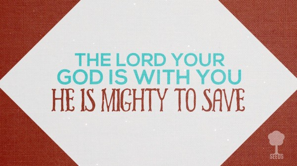 Mighty To Save Kids Worship Video for Kids