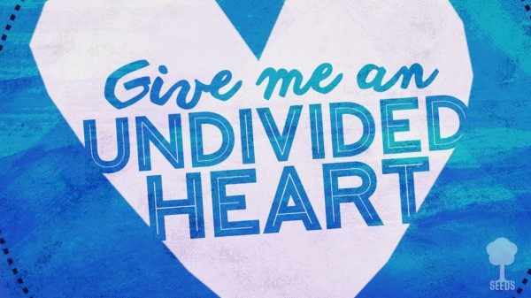 Undivided Heart Kids Worship Video for Kids