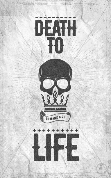 Death To Life Church Bifold Bulletin