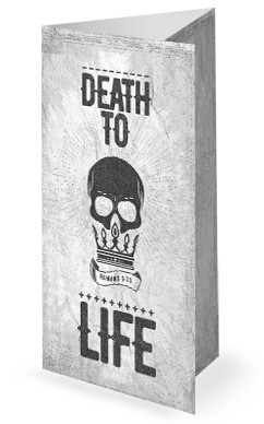 Death To Life Church Trifold Bulletin