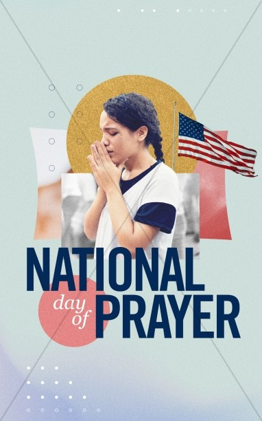 National Day Of Prayer Bifold Bulletin