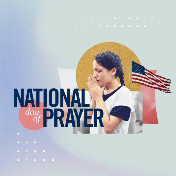 National Day Of Prayer Social Media Graphic