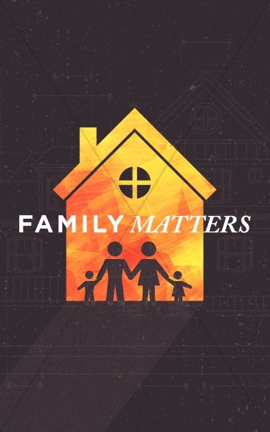 Family Matters House Church Bifold Bulletin