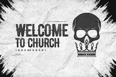 Death To Life Welcome Church Motion Graphic