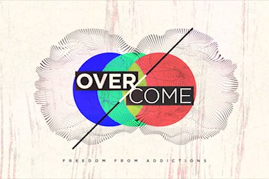 Overcome Title Church Motion Graphic