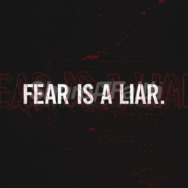 Fear Social Media Graphic