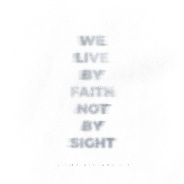 Faith Blurry Social Media Graphic