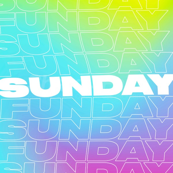 Sunday Funday Social Media Graphic
