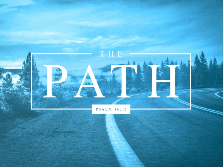 The Path Blue Church PowerPoint