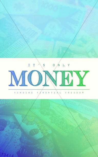It's Only Money Church Bifold Bulletin