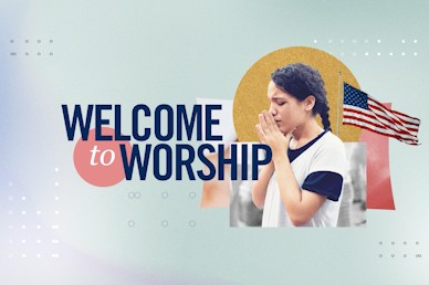 National Day Of Prayer Welcome Church Video