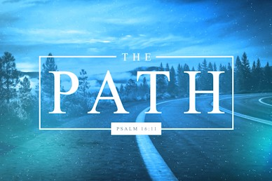 The Path Title Church Motion Graphic