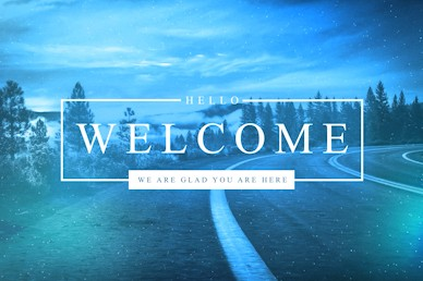 The Path Welcome Church Motion Graphic