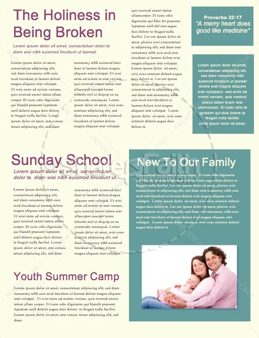 Breakdown Church Newsletter