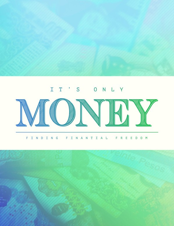 It's Only Money Church Flyer
