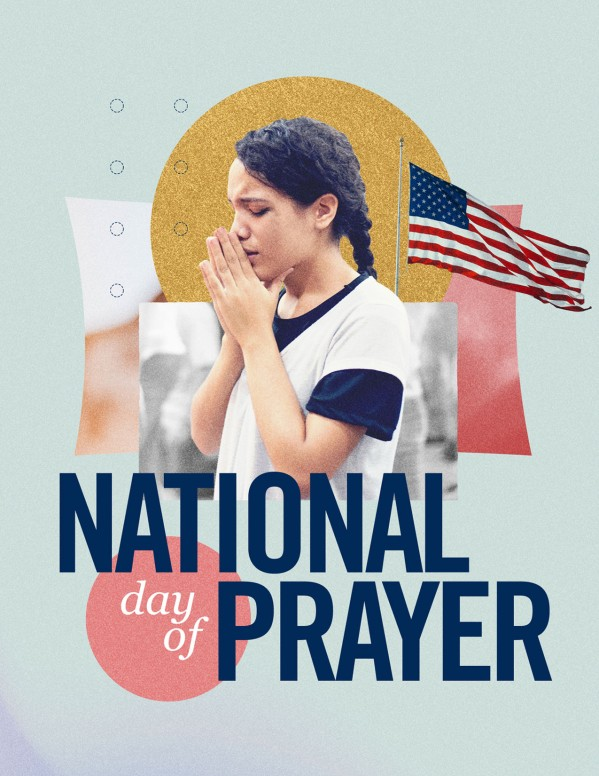 National Day Of Prayer Church Flyer