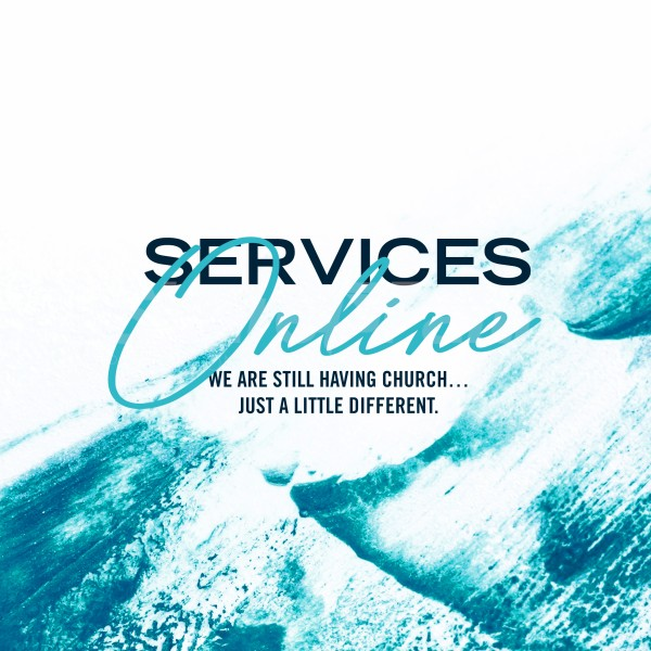 Online Church Services Social Media Graphic