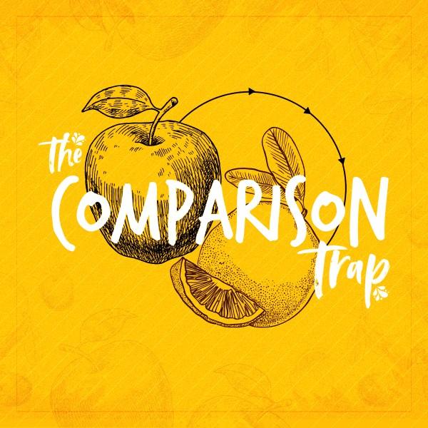 Comparison Trap Church Social Media Graphic