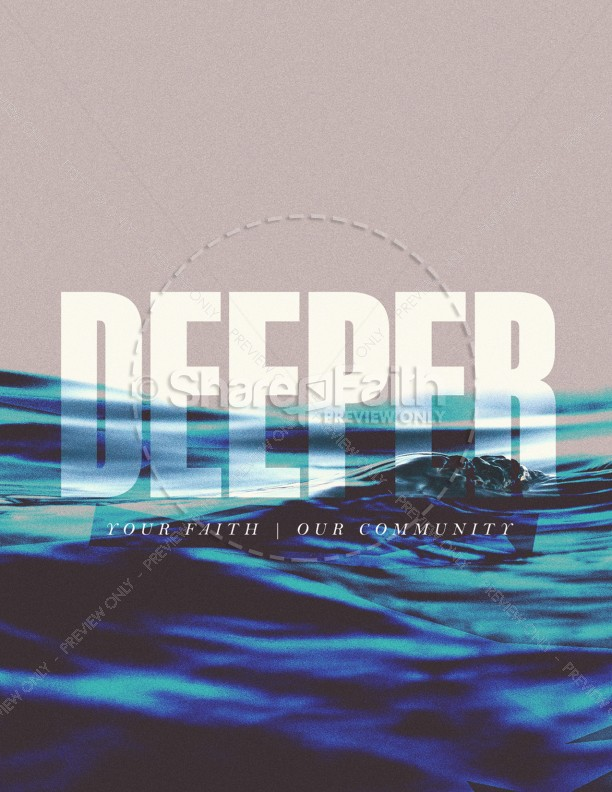 Deeper Church Flyer