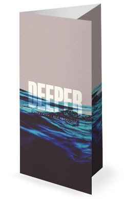 Deeper Church Trifold Bulletin