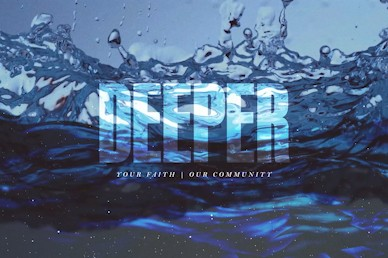 Deeper Title Church Motion Graphic