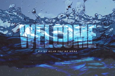 Deeper Welcome Church Motion Graphic