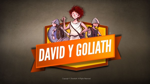 Video bíblico de David y Goliat para niños