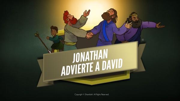 1 Samuel 20 David y Jonathan Video de la Biblia para niños