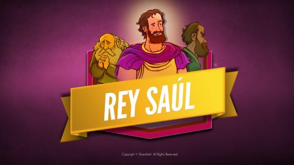 Video de la Biblia del Rey Saúl para niños