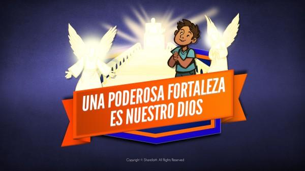 Salmo 91 Una fortaleza poderosa es nuestro video bíblico de Dios para niños