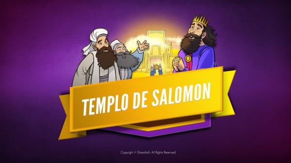 Video de la Biblia del Templo de 1 Reyes 8 Salomón para Niños