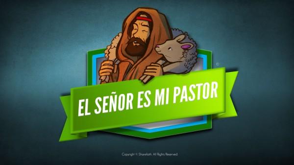 Salmo 23 El Señor es mi pastor Video bíblico para niños