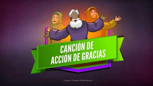 Salmo 107 Canción de Acción de Gracias Biblia en video para niños