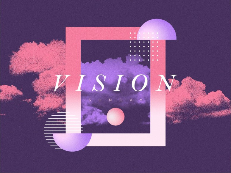 Vision Sunday Purple Church PowerPoint
