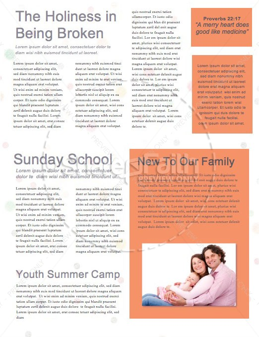 Mother's Day You Rock Church Newsletter