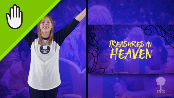 Treasure Kids Worship Video for Kids Hand Motions Split Screen