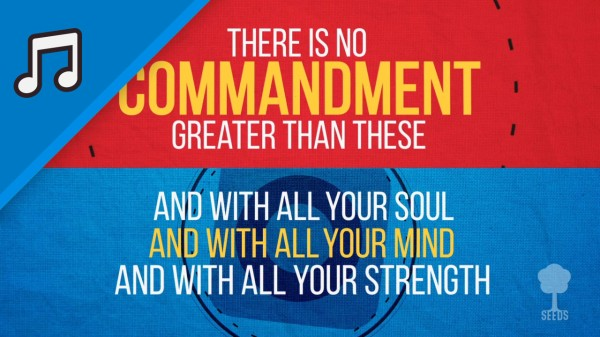 Greatest Commandment Kids Worship Video for Kids Instrumental