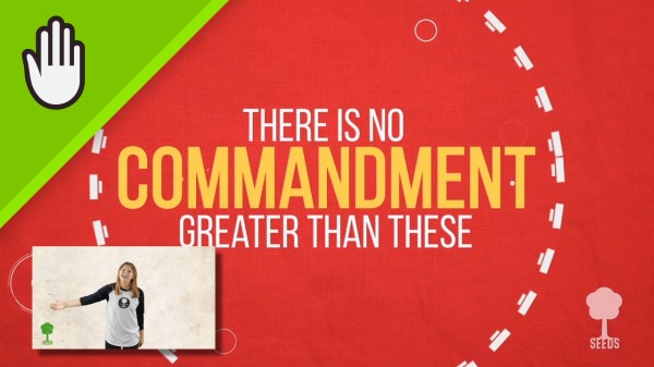 Greatest Commandment Kids Worship Video for Kids Hand Motions