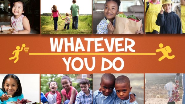 Whatever You Do Kids Worship Video for Kids