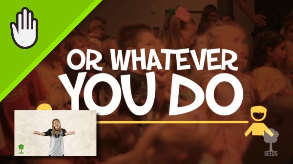 Whatever You Do Kids Worship Video for Kids Hand Motions
