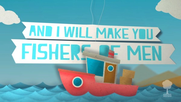 Fishers Of Men Kids Worship Video for Kids