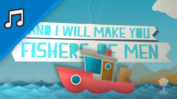 Fishers Of Men Kids Worship Video for Kids Instrumental