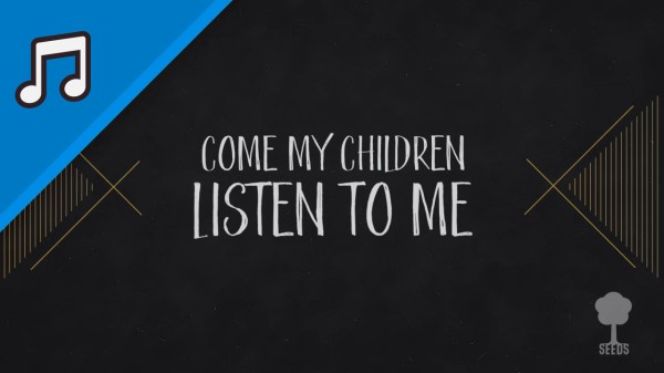 Listen To Me Kids Worship Video for Kids Instrumental
