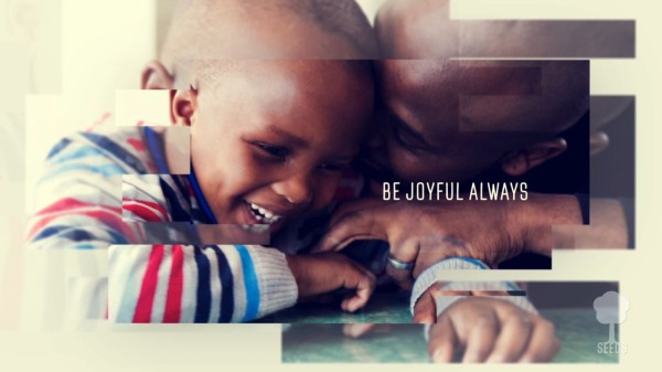 Be Joyful Always Kids Worship Video for Kids