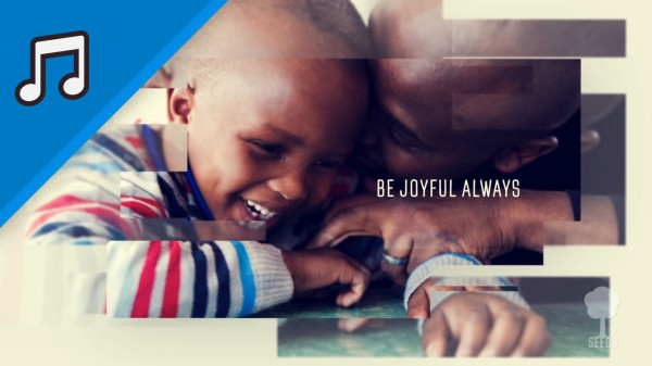 Be Joyful Always Kids Worship Video for Kids Instrumental