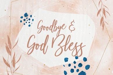 Mother's Day Goodbye Church Motion Graphic