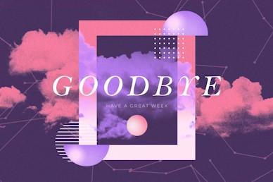 Vision Sunday Purple Goodbye Church Video